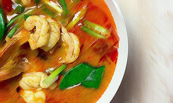 menu degustacion tailandia