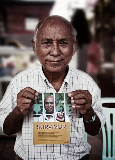 anciano de camboya