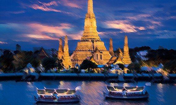 cultura y descanso en vietnam y tailandia