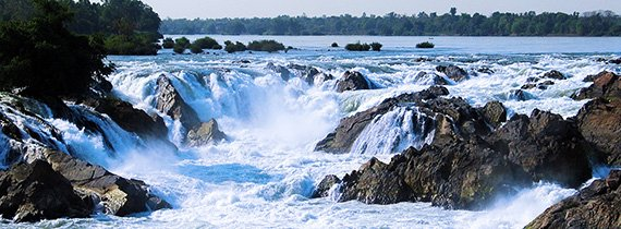 las cascadas de khon phapheng