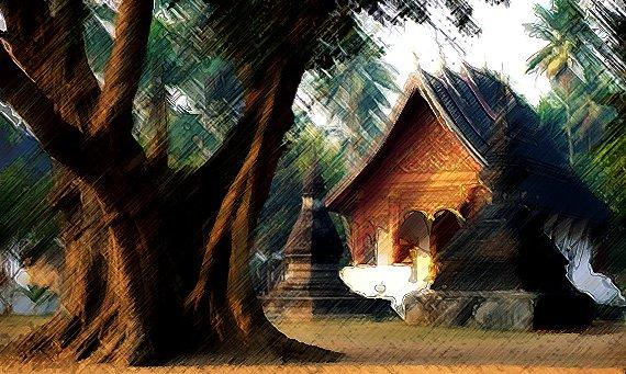 luang prabang durante 4 dias en laos
