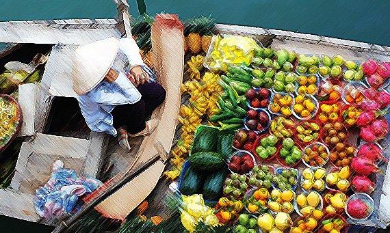 mercados de mekong