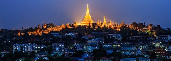 pagoda de botathaung en yangon