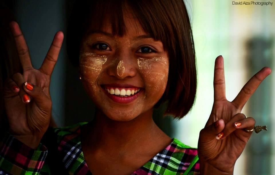 la amabilidad de la gente de myanmar