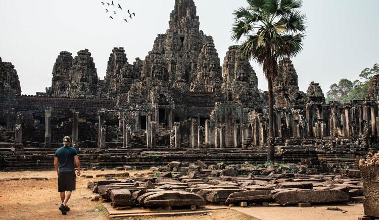 restauración templo de angkor