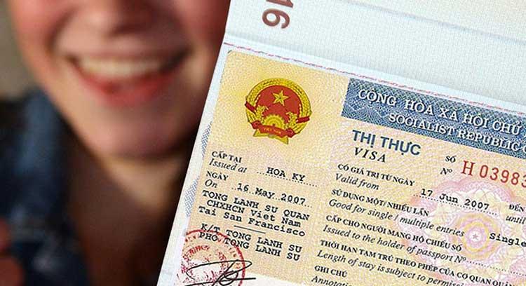 Visado vietnamita