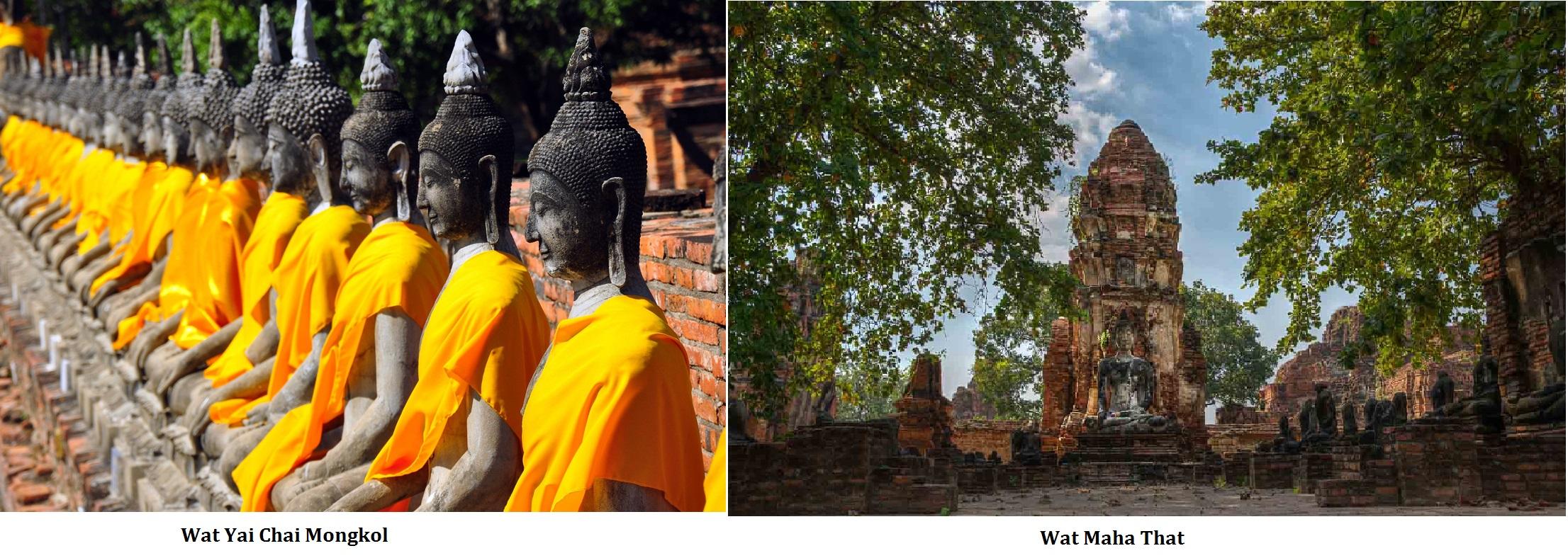 Chai Monkol & Wat Maha That