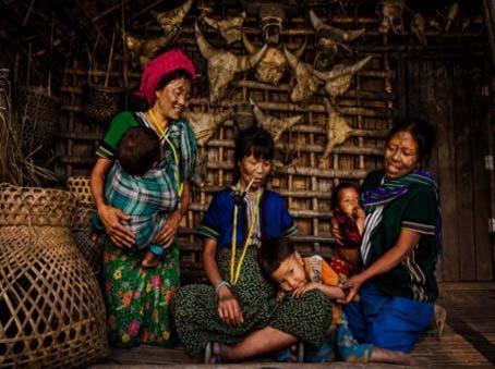 Una visita a Kanpalet en myanmar