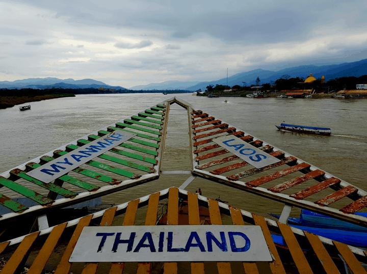 Myanmar Laos y Tailandia