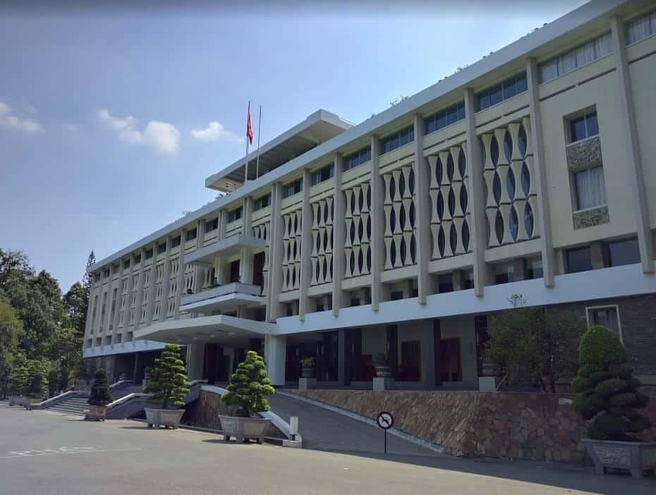 exteriores del palacio de la reunificacion