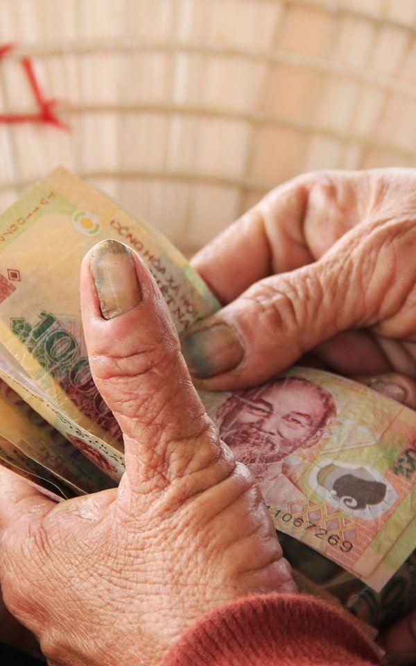 Dónde cambiar dinero en Vietnam