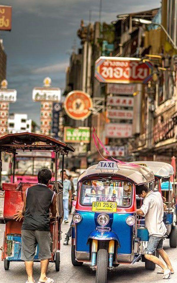 Tuk-Tuk en Tailandia