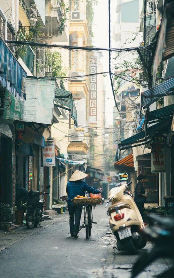 Hanoi, Ciudad entre aguas