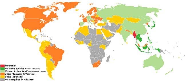 visa state for myanmar