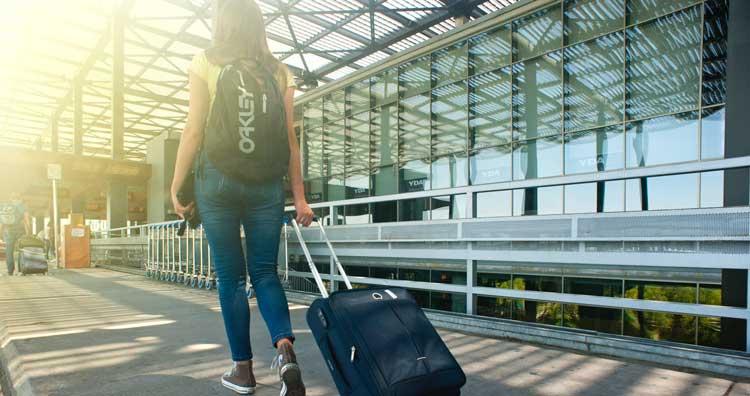 Equipaje para viaje a Asia