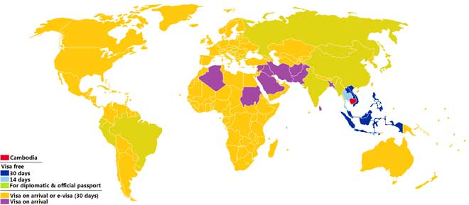 visa map myanmar