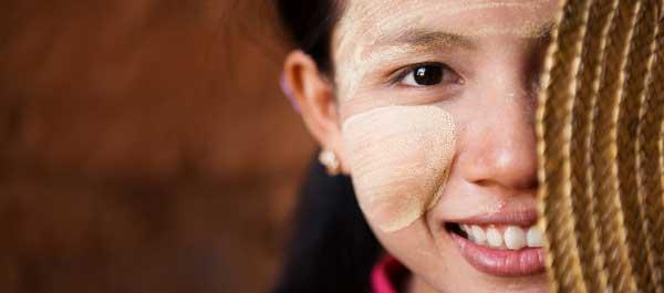 girl in myanmar