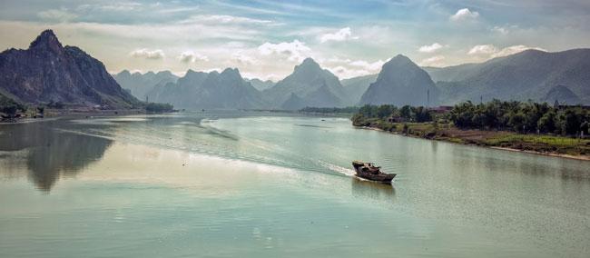 Paisaje de Quang Binh