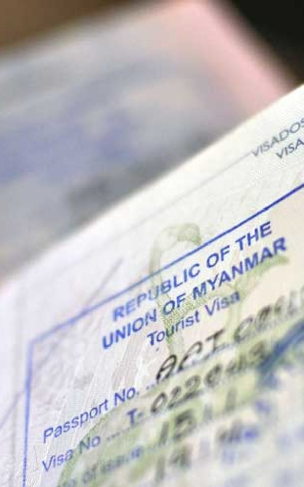 Visa required to travel to Myanmar