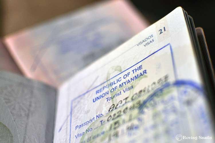 visa for myanmar
