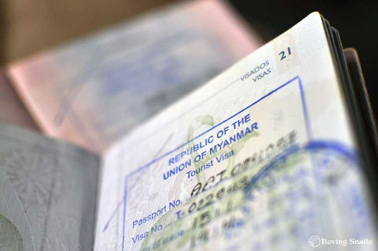 como pedir el visado en myanmar