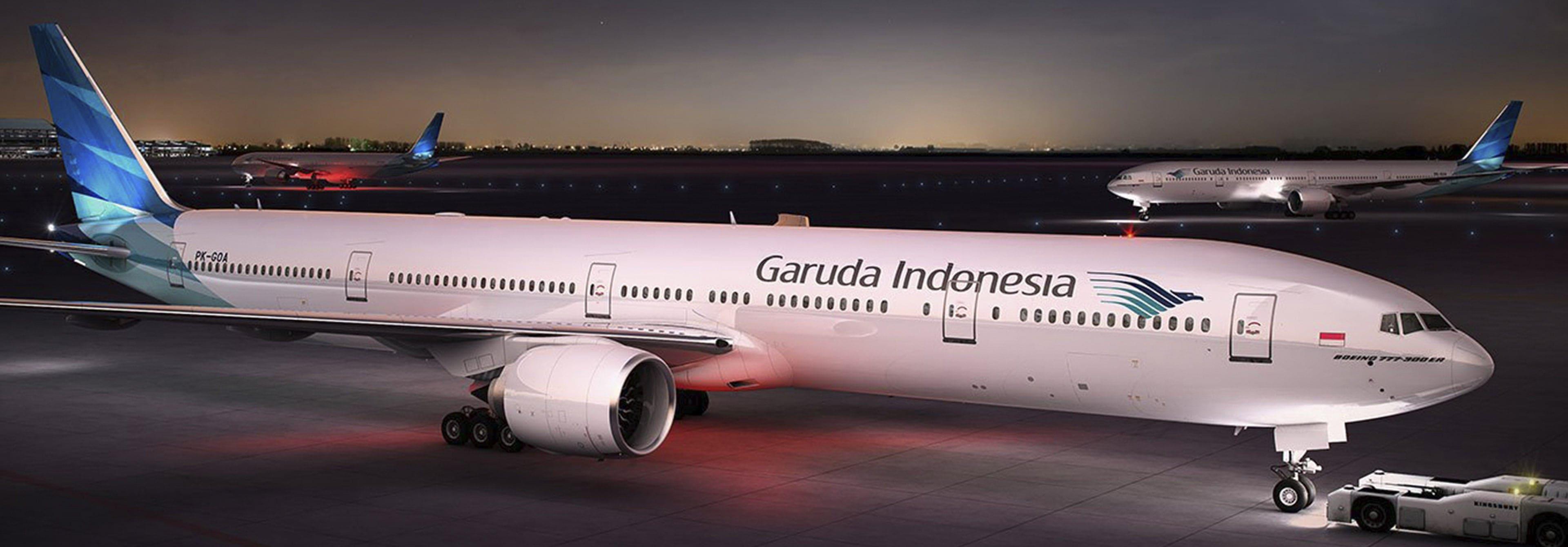 Transporte- aerolínea Indonesia