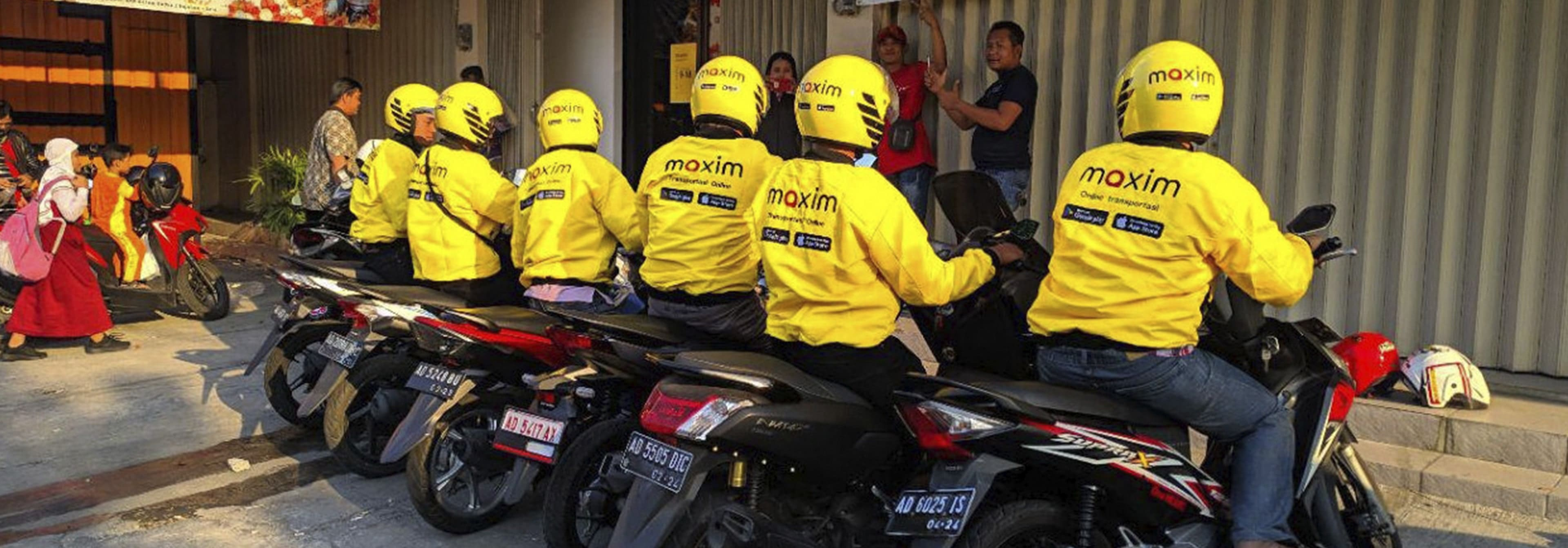 Transporte- moto taxi Indonesia